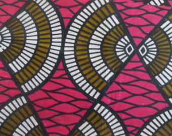 Ankara Georgette Fabric