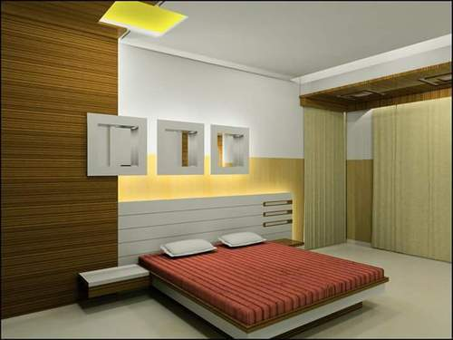 master bed room interior designing