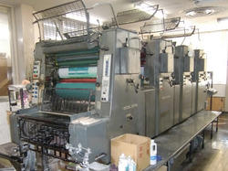 Used Heidelberg 4 Color Offset Press Machine