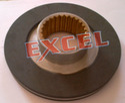 Brake Rotor for DC Fail Safe Brakes