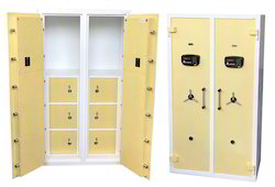 Heavy Duty Double Door Safe with Separate Compartment