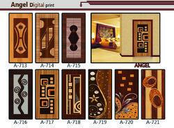 Multicolor Wood Fancy Doors