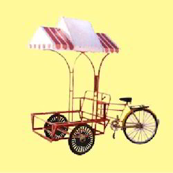 Ice Cream Vending Rickshaw Machine