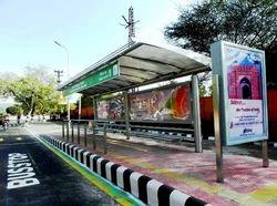 Bus Shalter Branding Service