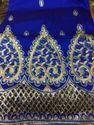 Royal Blue Raw Silk