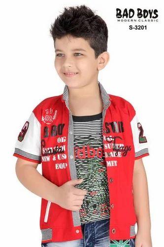 66f3a801f43 Bad Boys Cotton Half Sleeves Kids Collar Shirts