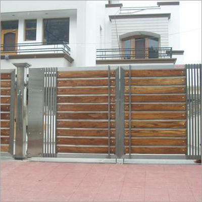 Ss Main Gate At Rs 320 Kilogram Ss Gate Stainless Steel Darwaja