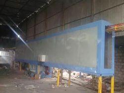 Silver Ms Aluminium Powder Coating Plant, Packaging Size: Box