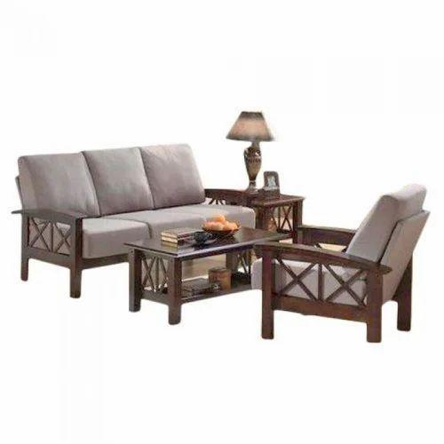Modern Wooden Sofa Set At Rs 45500 Set व डन स फ स ट
