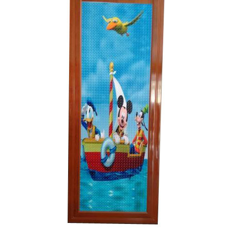 Design PVC Bathroom Door
