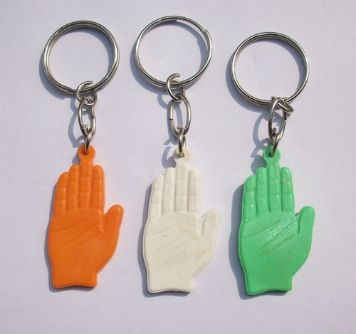 Indian National Congress Hand Symbol Keychain At Rs 6 Piece