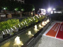 Static Garden Fountain