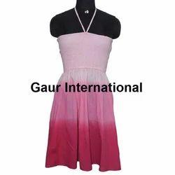 Tie Dye Bustier Dress