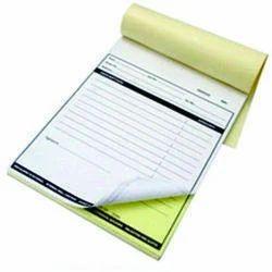 Challan Book Printing Services