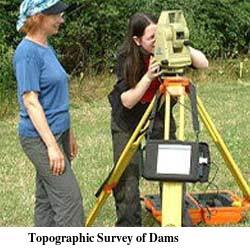 Topographic Survey of Dams