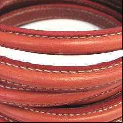 Napa Outside Stitching Leather Cord