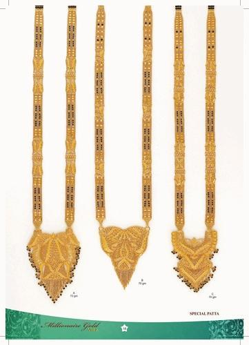 Gold Long Mangalsutra View Specifications Details Of