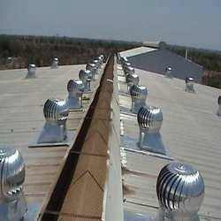 Turbine Air Ventilator for Construction