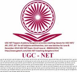 UGC NET Coaching in Bangalore