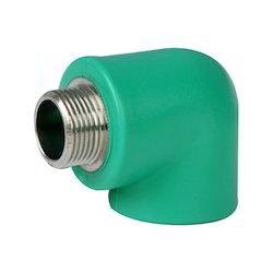 Plastic PPR Male Threaded Elbow