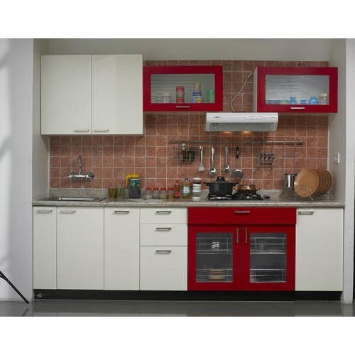 Straight Kitchen Design Manufacturer