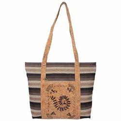 Cork Ethnic Ladies Hand Bag