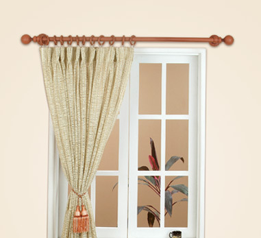PVC Curtain Rod At Rs 40 Square Feet