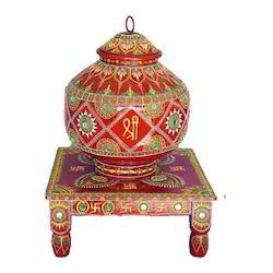 Con Work Handicraft Con Work Stone Pot Wholesaler From Rajkot