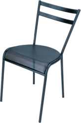 Steel Perforated Visitor Chair without Arm Rest