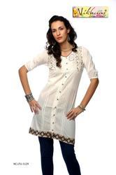 Indo Western Party Wear Ladies Kurti Tunic