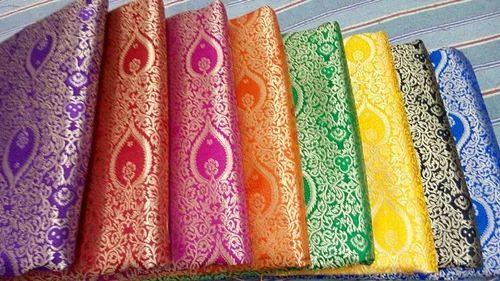 Silk Brocades Silk Brocades Fabrics Exporter From Varanasi