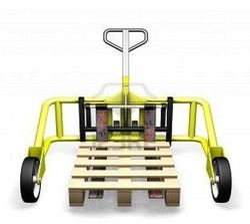 Nilkamal Electric Rough Terrain Pallets Truck, For Material Handling