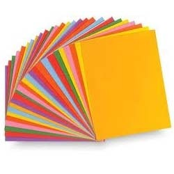 Color Writing & Printing Paper- 45 to 50 GSM