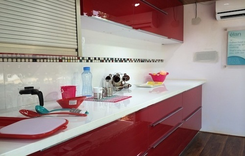 Simple One Side Kitchen