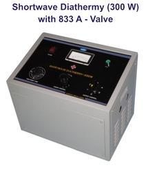 Shortwave Diathermy (300 W) with 833A - Valve