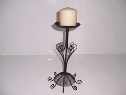 Wire Candle Stand