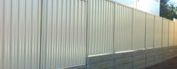 Galvanized Wall Fencing