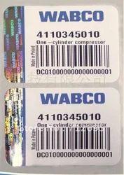 Hologram Barcode Labels