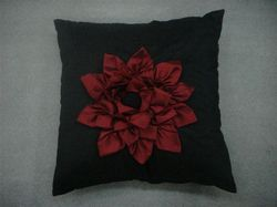 Rose Designer Cushion Cover