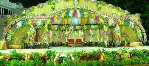 Flower decorations for wedding in secunderabad old alwal by dhrithi flower decorations for wedding junglespirit Image collections