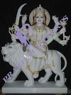 Durga Ji with Stone Work