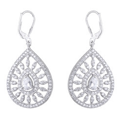 925 Sterling Silver Designed Earrings