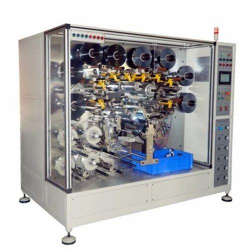 Automatic Capacitor Winding Machine, कैपेसिटर वाइंडिंग मशीन - Geotron,  Bengaluru   ID: 8631553397