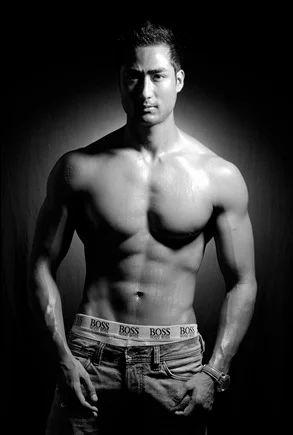 Male Model Photography, Model Portfolio Photography - Mukesh