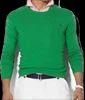 может быть зелёный мужской свитер с чем носить моделей