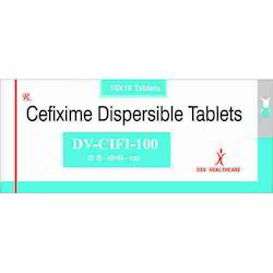 Cefixime 100 mg Tablets