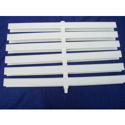 Polyvinyl Chloride Anti Skid Grating Single Pin-II, Thickness: 1 mm