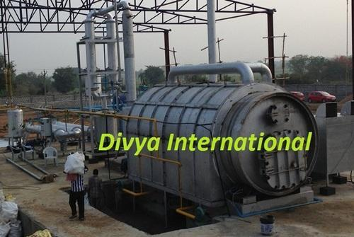 Waste Tyre Recycling Pyrolysis Plant - Turnkey Project Of