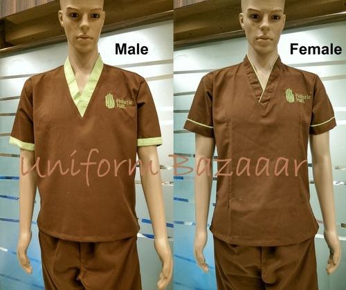 Spa uniforms latest health and beauty uniforms for Spa uniform price