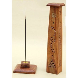 Wooden Incense Burner Towers